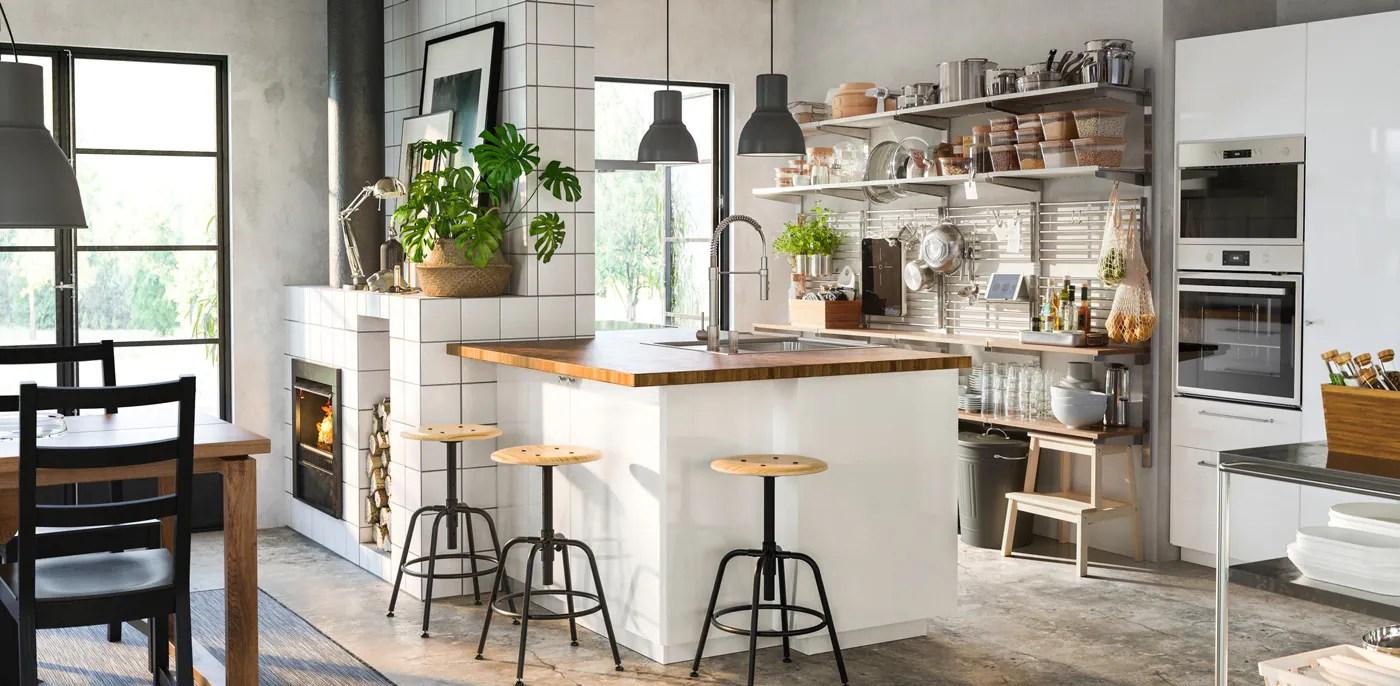 Cucina Componibile Ringhult Bianco Lucido Ikea