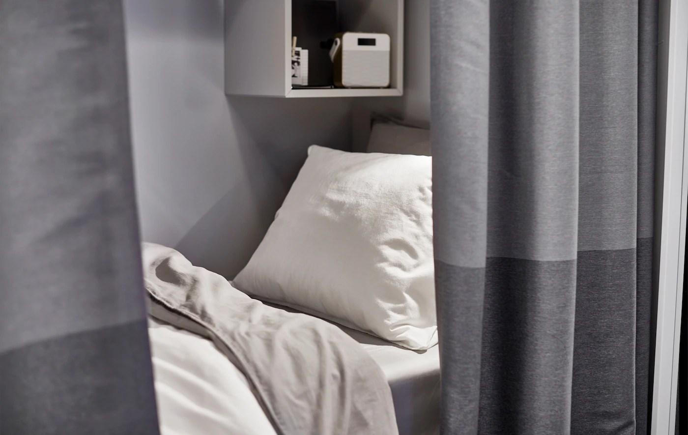 Et Meget Lille Sovevaerelse 1 89 Kvadratmeter Ikea