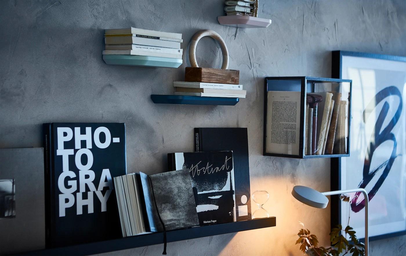 Velorganiserede Og Kreative Reoler Ikea