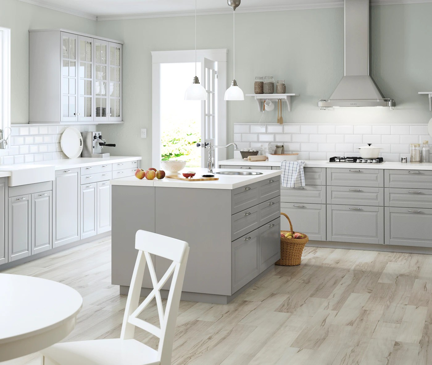 Ikea Landhauskuchen Wei   Inspiration Küche für Ihr Zuhause