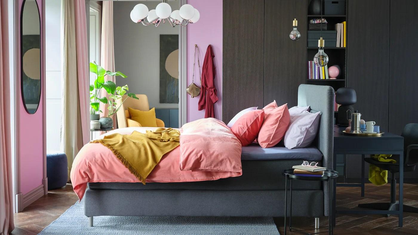 Inspiration Til Sovevaerelsesmobler Ikea