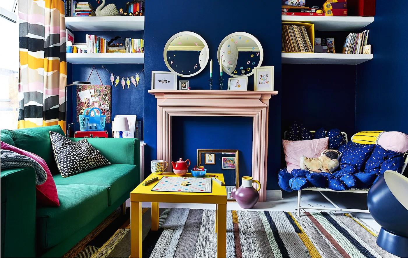 Ideer Og Inspiration Til At Bruge Farver Derhjemme Ikea