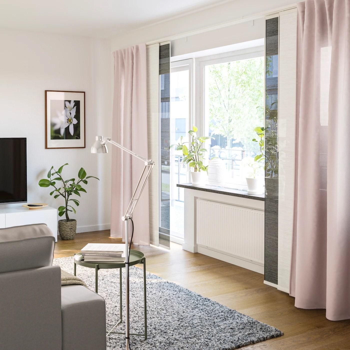 Gardinenlsung fr Licht im Wohnzimmer  IKEA