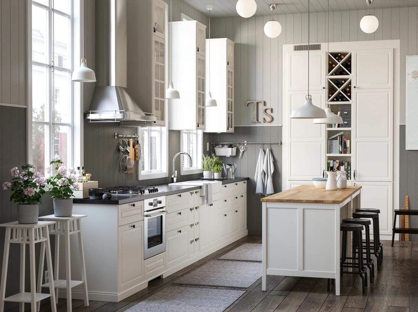 Muebles de cocina  Diseos de cocinas  IKEA