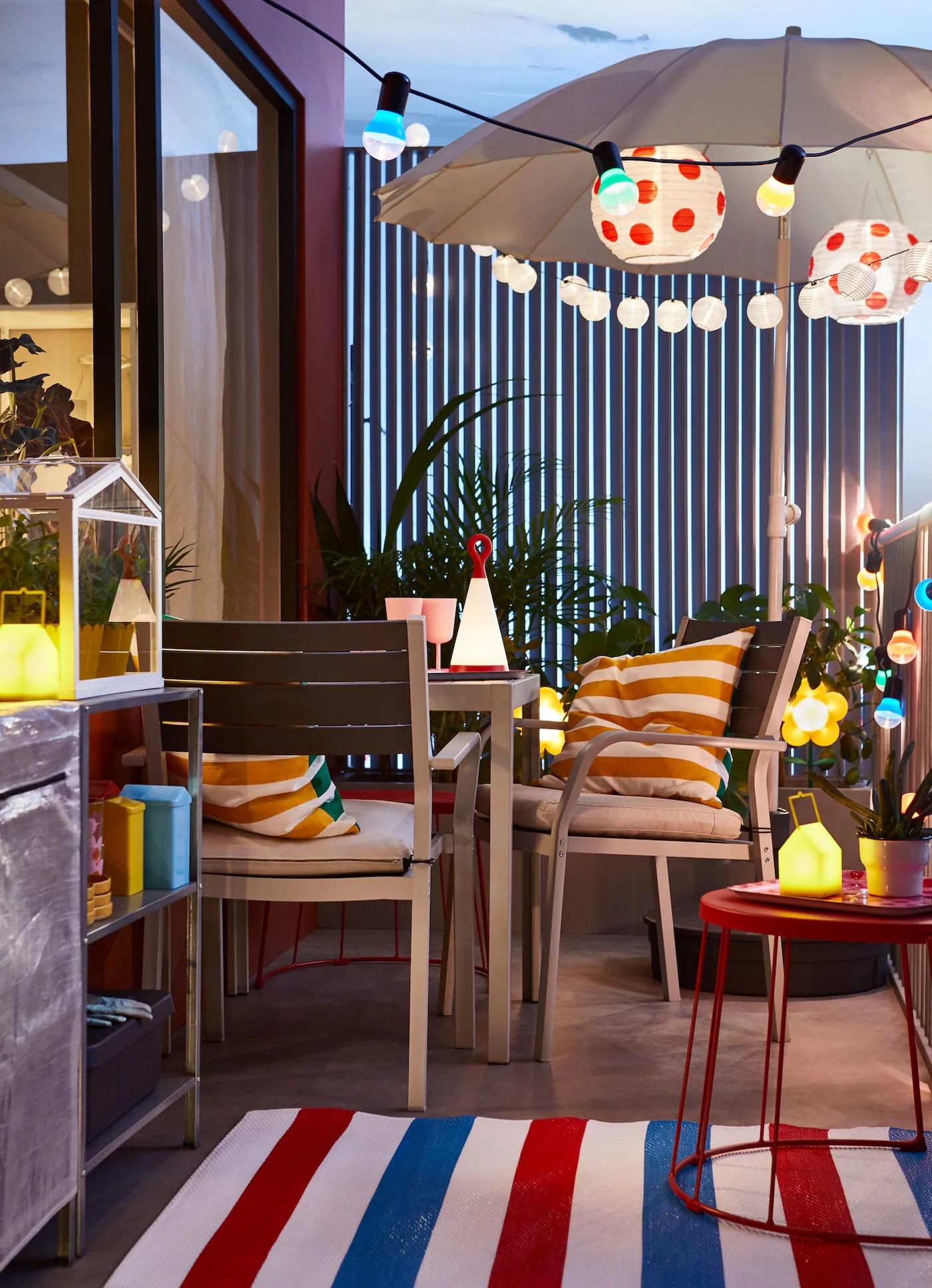 Goditi Lestate Sul Balcone Di Casa Ikea