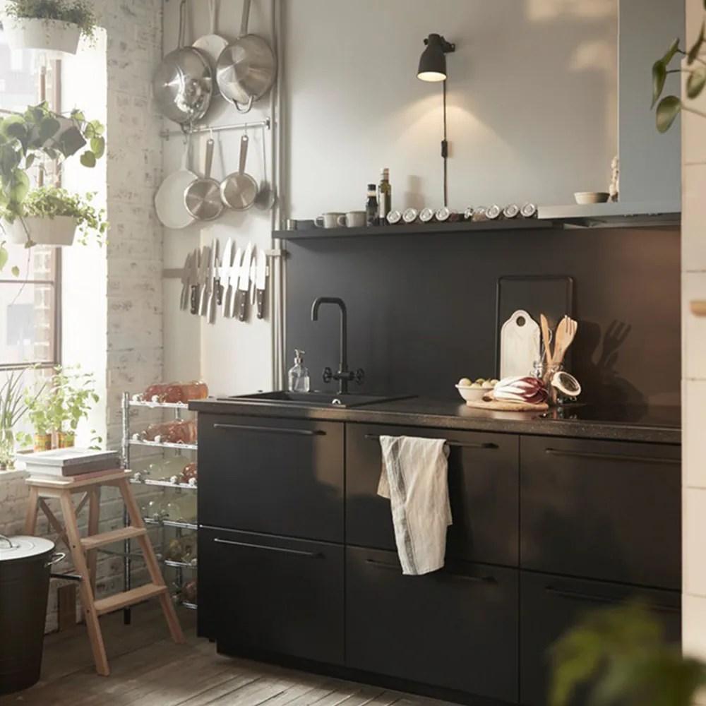 cuisines metod finition kungsbacka noir