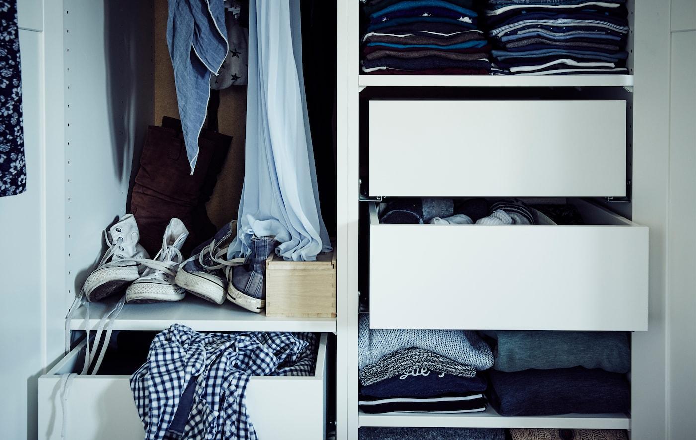 Idee Per Organizzare Il Guardaroba Pax Ikea