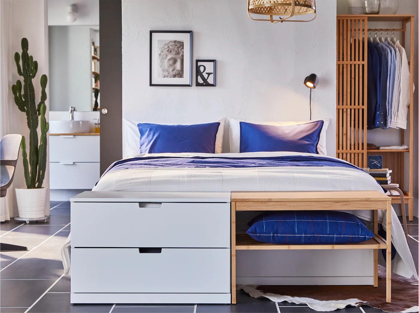 Chambre à Coucher Et Rangements En Bambou Ikea