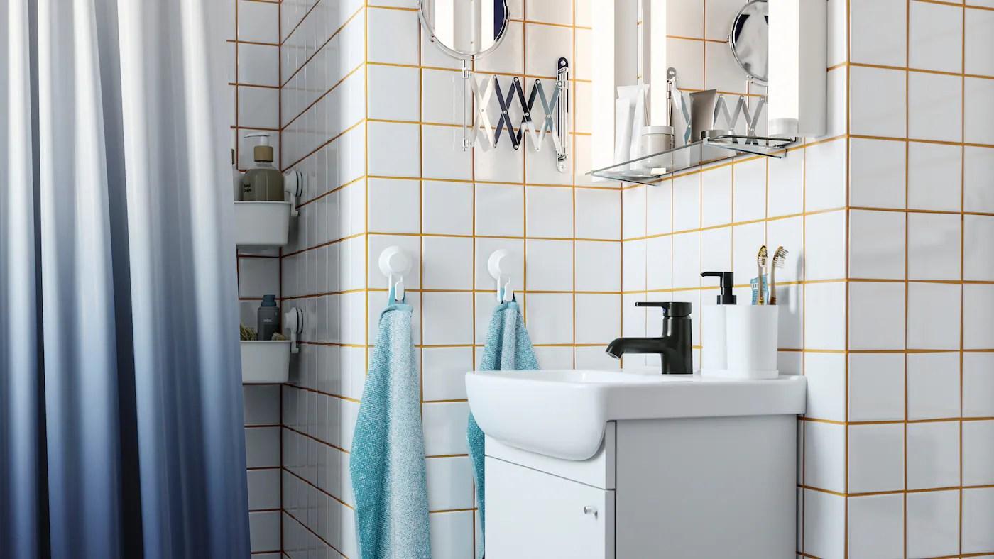 Segui i consigli dell'architetto per ristrutturare il bagno in economia. Un Bagno Di Stile In Linea Con Il Tuo Budget Ikea It