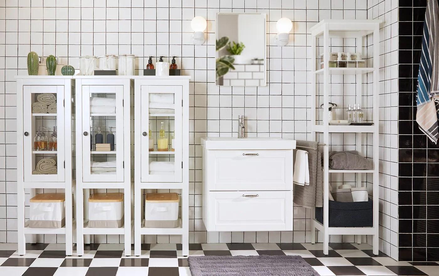 Organizza il tuo bagno  IKEA