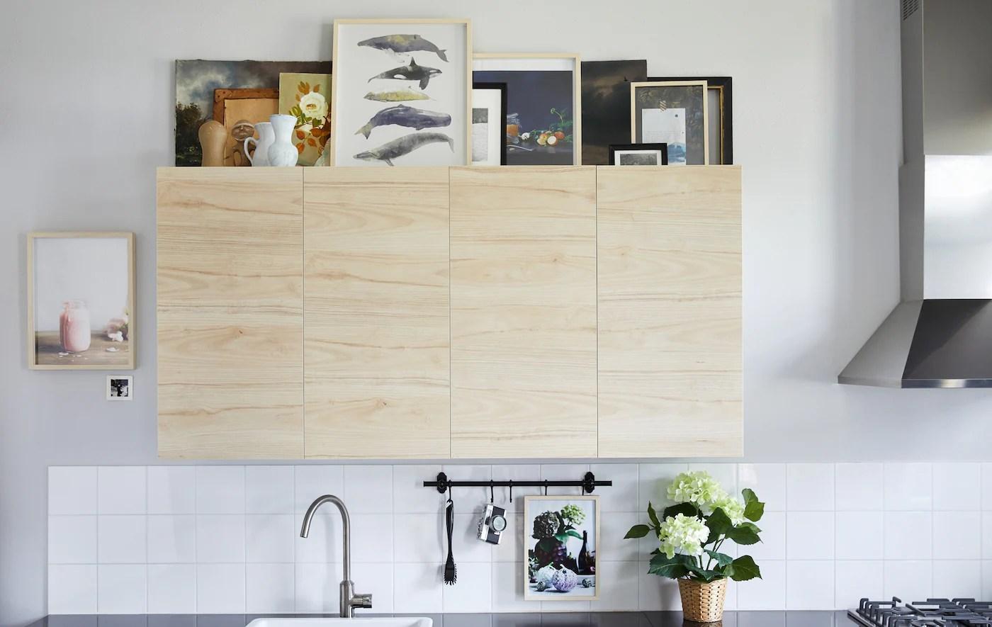 Idee Per Utilizzare Il Piano Sopra I Pensili Da Cucina Ikea