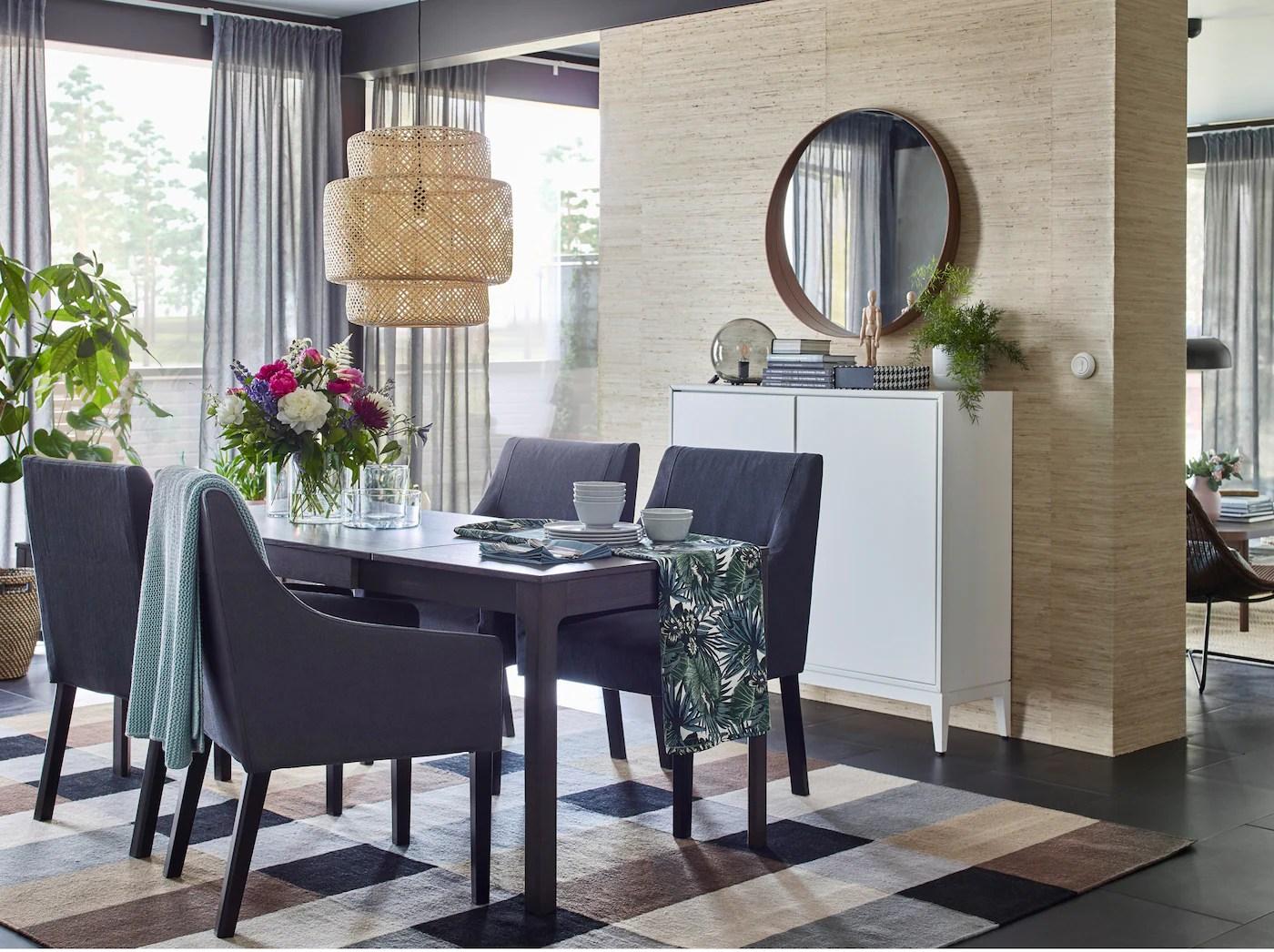 Vibrant Dining Room Decor Ikea