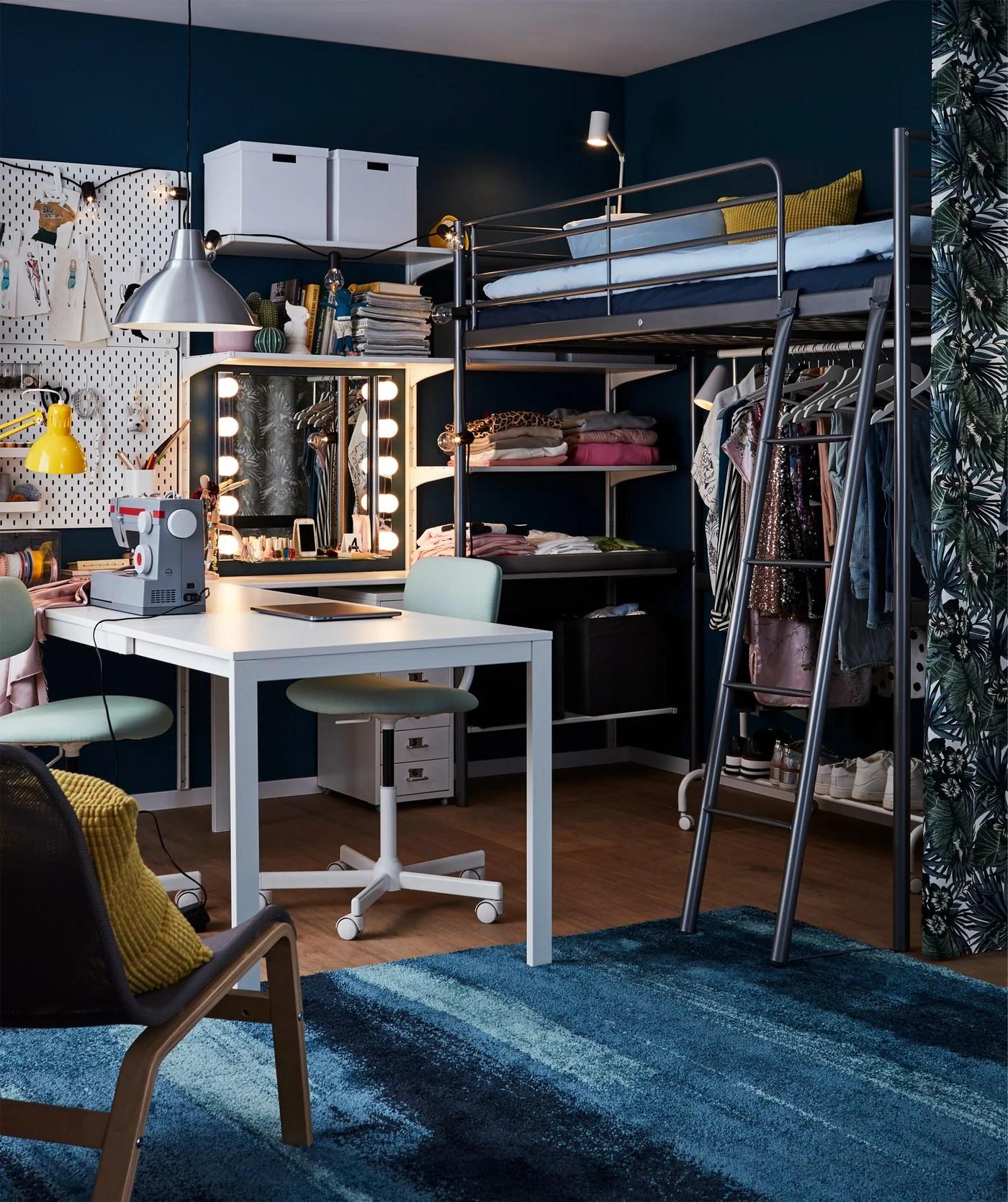 Lespace Parfait Pour Un Ado Fashionista Ikea
