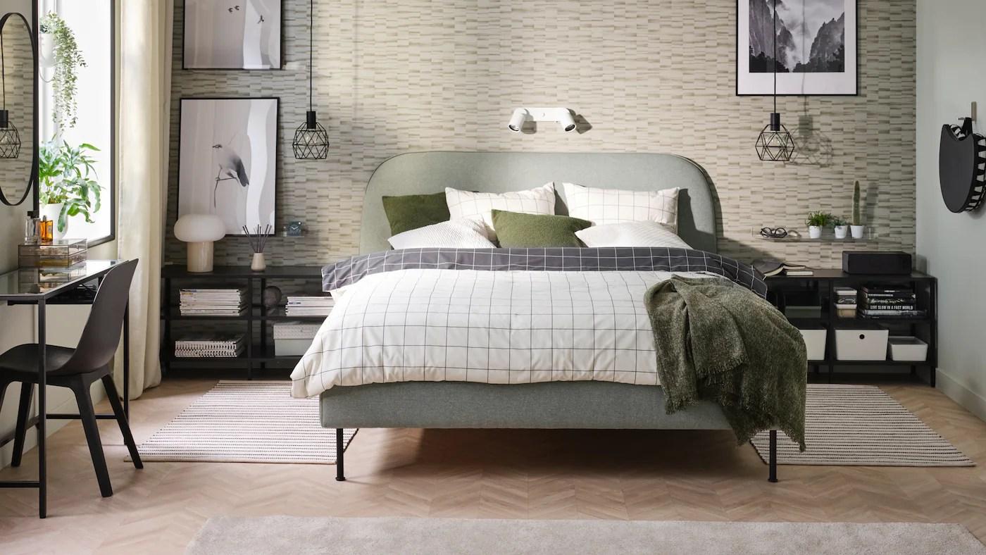 Combinazione perfetta di estetica e praticità, grazie alla struttura che racchiude il letto e l'armadio. Camere Da Letto Per Ogni Esigenza Di Stile E Budget Ikea It