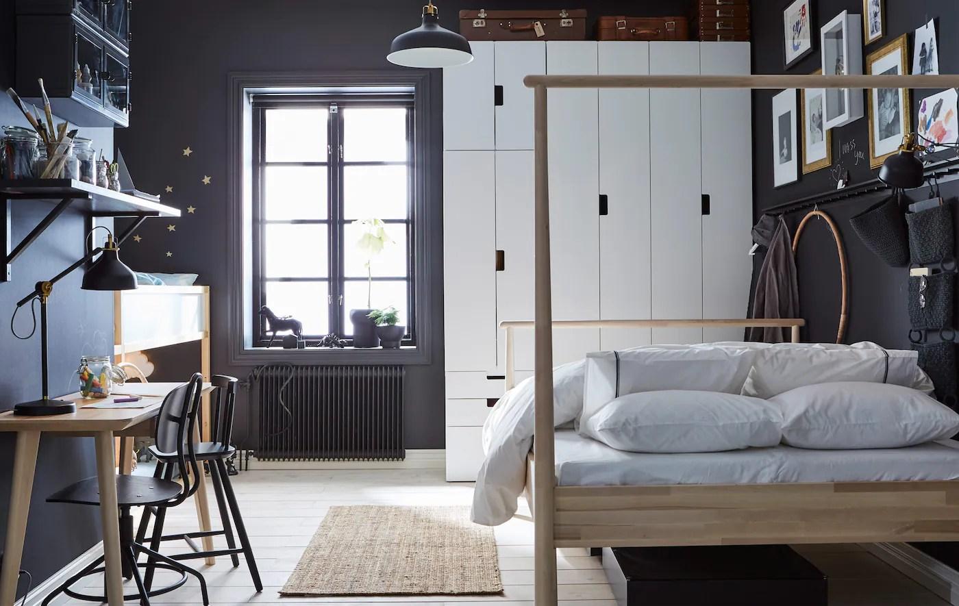 ikea camera da letto economica e funzionale. Un Unica Camera Da Letto Per Genitori E Bambini Ikea Svizzera
