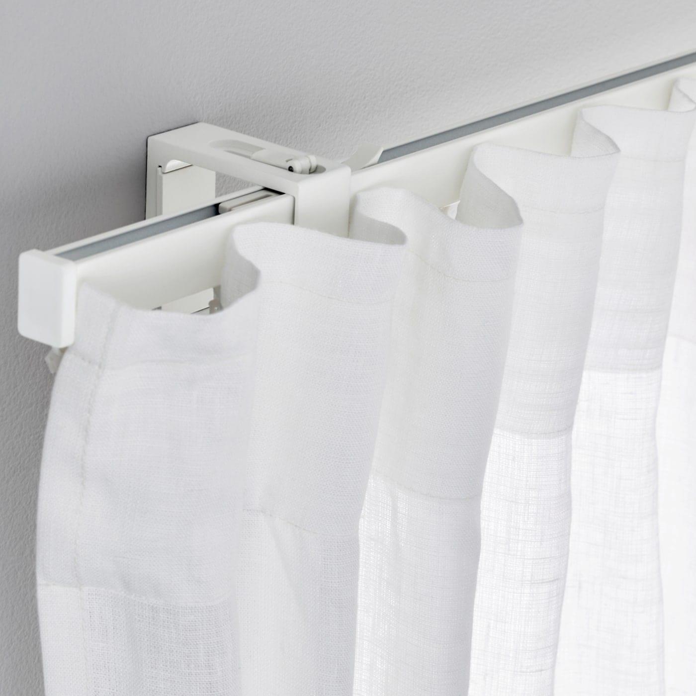 Il binario delle tende a pannello si applica a parete o a soffitto. Binari E Sistemi Per Tende Vigda Ikea Svizzera
