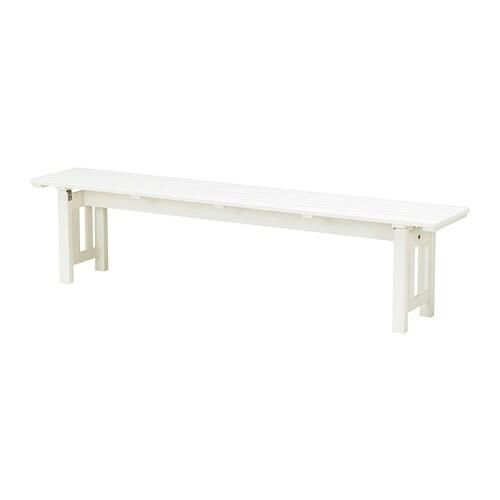 NGS Panca da giardino  bianco  IKEA