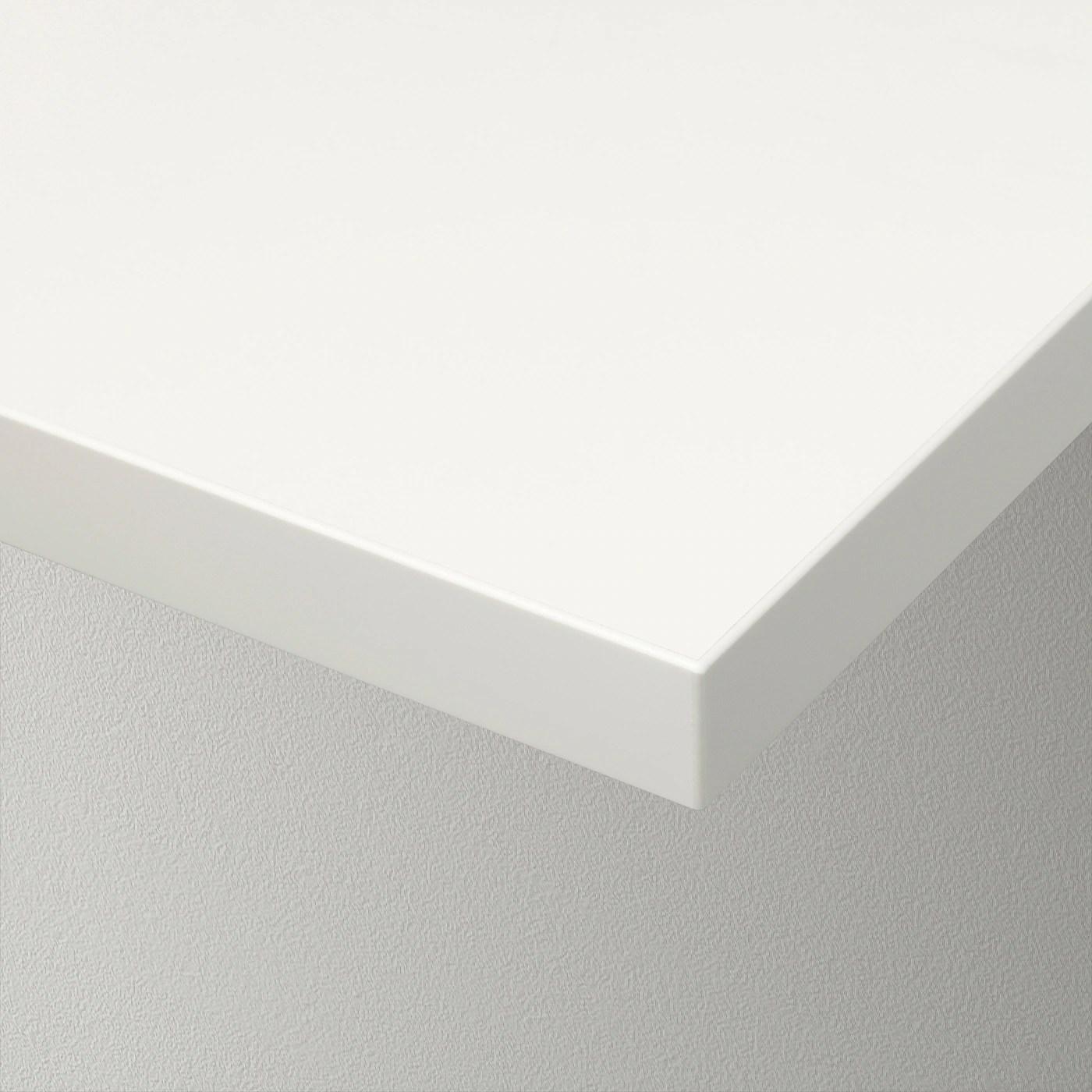 Nell'assortimento in vendita da ikea ce ne sono di tanti stili, misure e finiture diverse, con o senza staffe, alcune anche con cassetti. Bergshult Mensola Bianco 120x20 Cm Ikea It