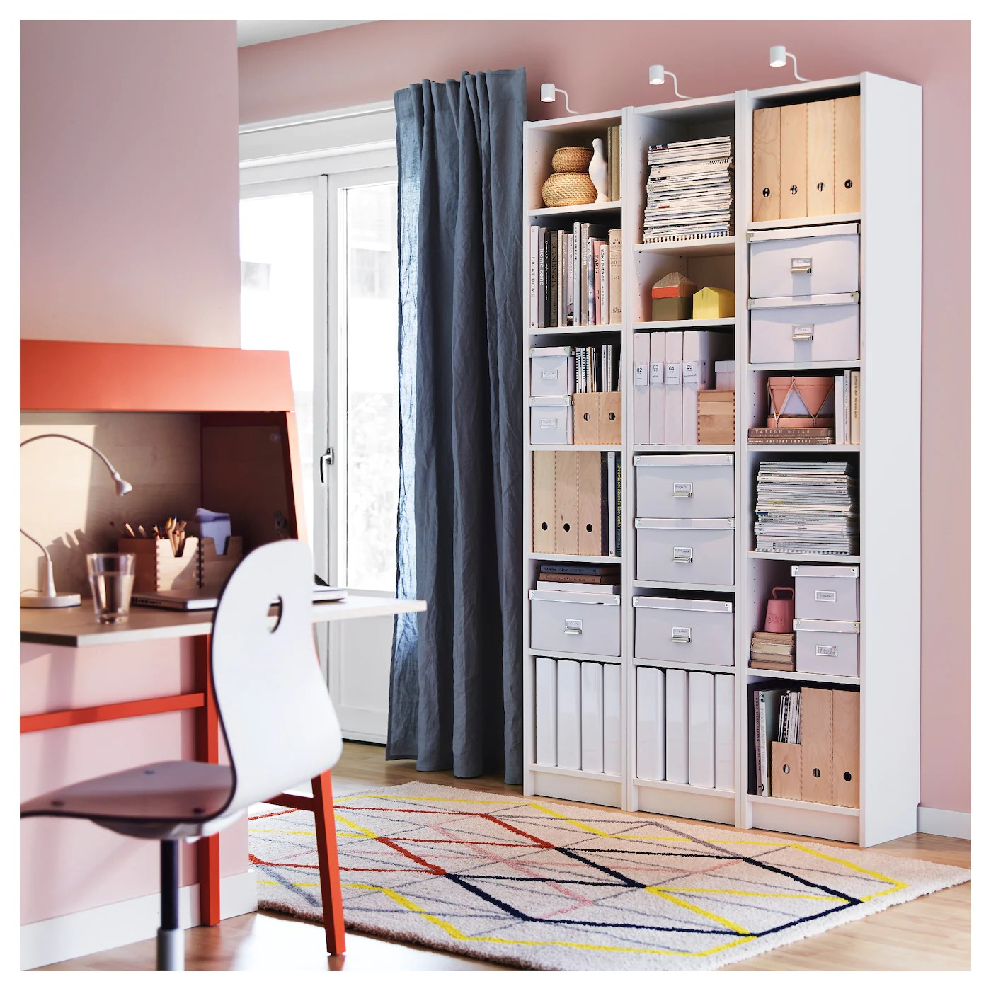 BILLY Libreria, bianco, 40x28x202 cm   IKEA IT