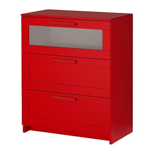 BRIMNES Cassettiera con 3 cassetti  IKEA