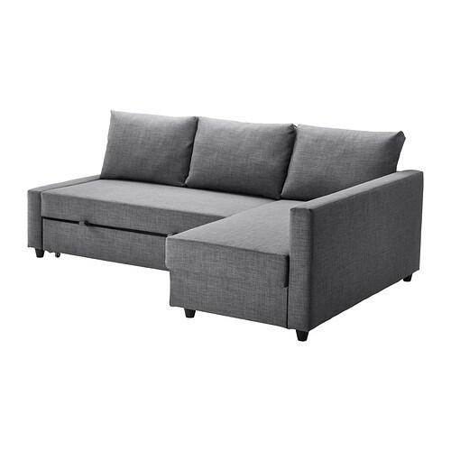 FRIHETEN Divano letto angolare  Skiftebo grigio scuro  IKEA