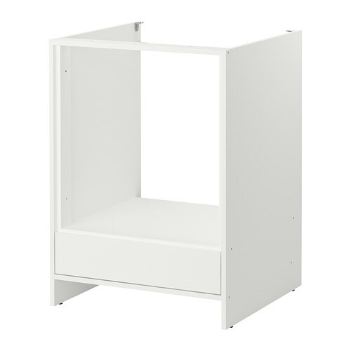 FYNDIG Mobile base per forno  biancobianco  IKEA