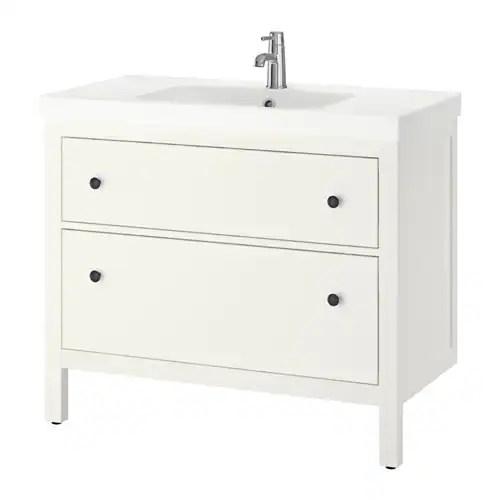 HEMNES  ODENSVIK Mobile per lavabo con 2 cassetti  IKEA