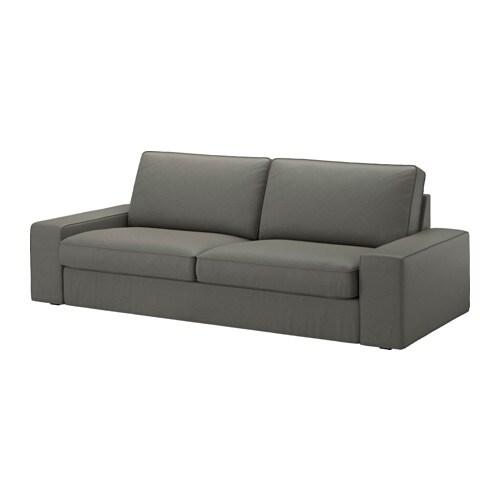 KIVIK Divano a 3 posti  Borred grigioverde  IKEA