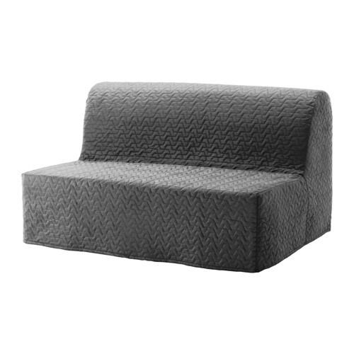 LYCKSELE LVS Divano letto a 2 posti  Vallarum grigio  IKEA