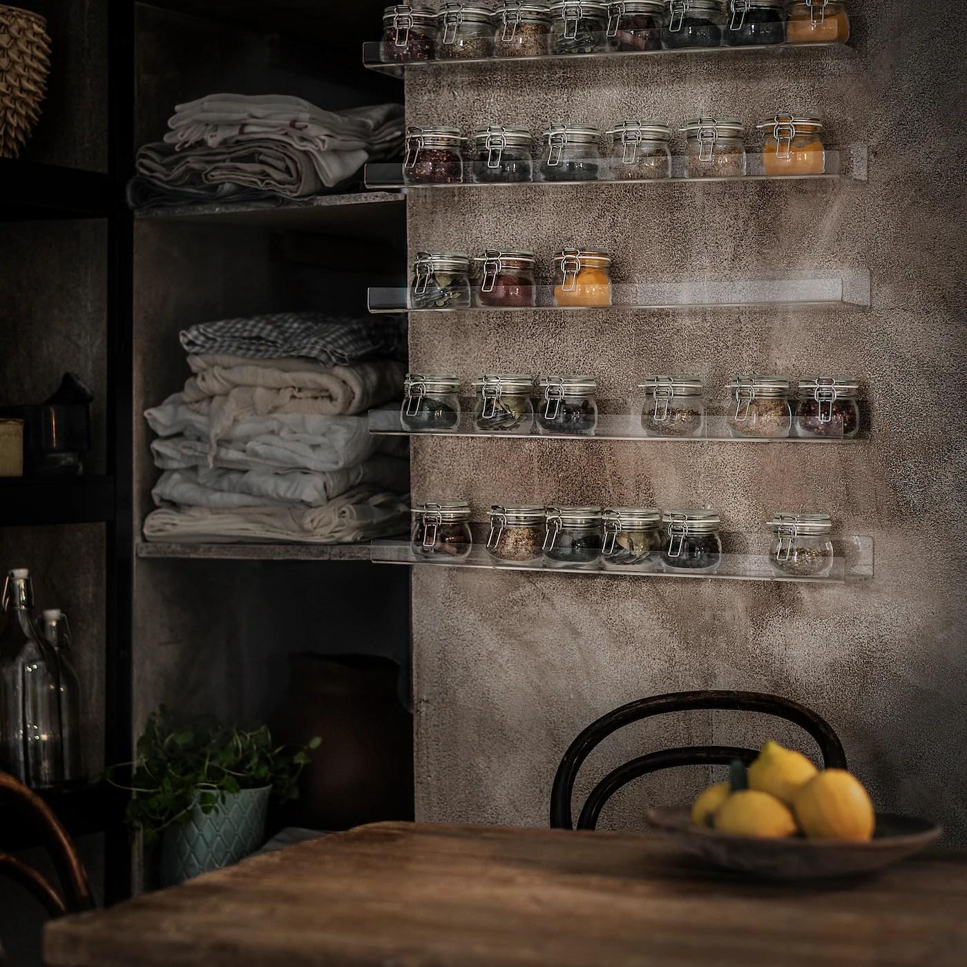 Ordina i tuoi pezzi di ricambio per ikea da buyspare acquista online o in negozio i nostri ripiani melaminici. Mellosa Mensola Per Quadri Trasparente Ikea It