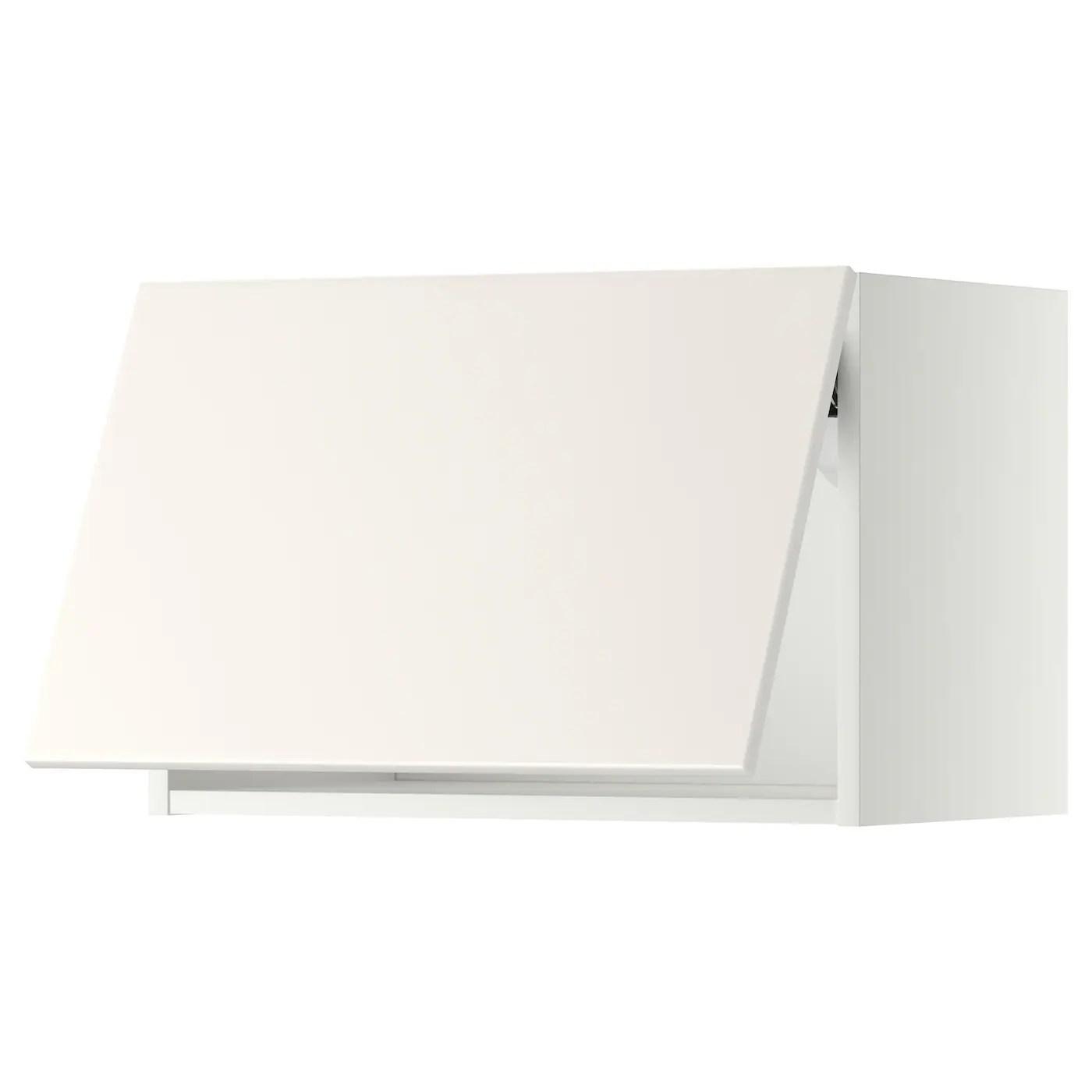 Scopri tutti i pensili su maisonplus. Metod Pensile Orizzontale Apertura Press Bianco Veddinge Bianco Ikea It