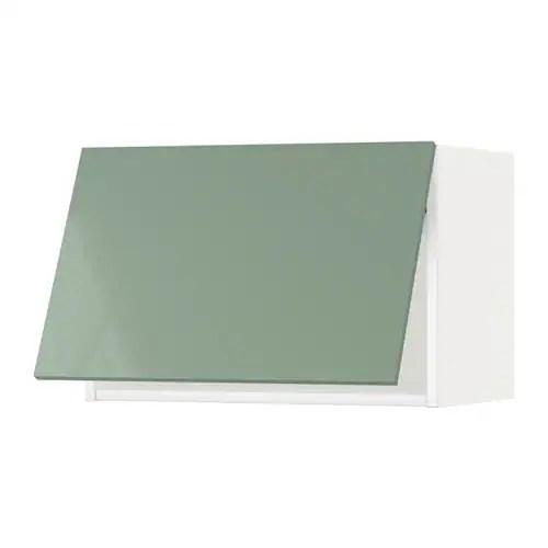 METOD Pensile orizzontale  bianco Kallarp lucido verde