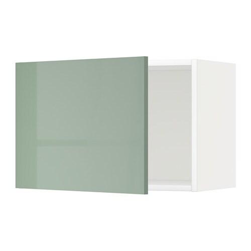 METOD Pensile  bianco Kallarp lucido verde chiaro 60x40