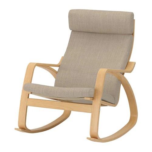PONG Sedia a dondolo  Hillared beige  IKEA