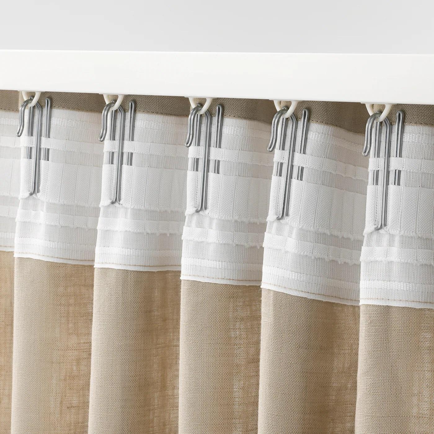 """Se """"come sbiancare naturalmente le tende di casa ingrigite e senza spendere un centesimo"""" Riktig Gancio Per Tende Ikea It"""
