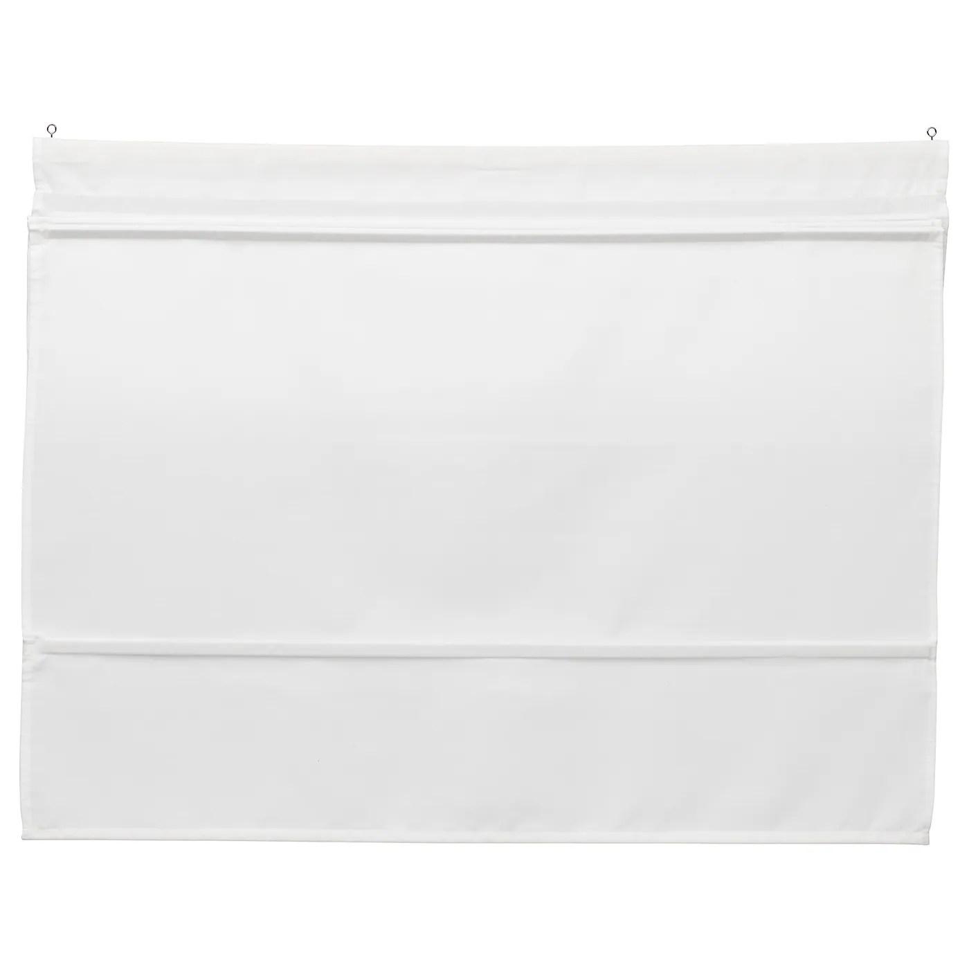 Sono adate per fissaggio su parete, soffitto o infisso. Ringblomma Tenda A Pacchetto Bianco 100x160 Cm Ikea It
