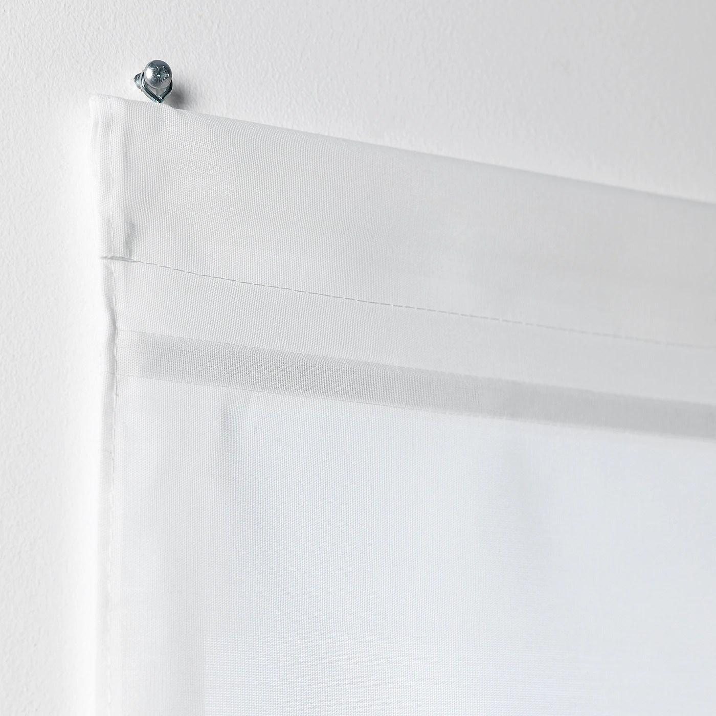Proposte low cost adatte a finestre e portefinestre, pratiche e durevoli, oscuranti, a pannello, a rullo e a pacchetto. Ringblomma Tenda A Pacchetto Bianco 100x160 Cm Ikea It