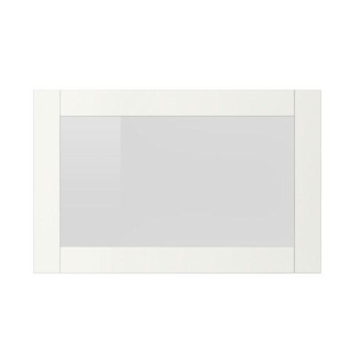SINDVIK Anta a vetro  biancovetro trasparente  IKEA