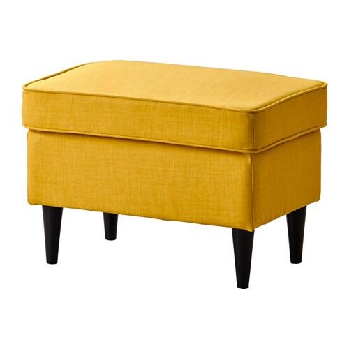 STRANDMON Poggiapiedi  Skiftebo giallo  IKEA