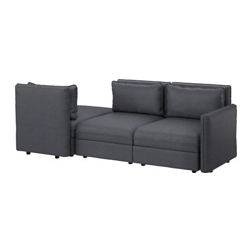 VALLENTUNA Divano a 3 posti con letto  IKEA