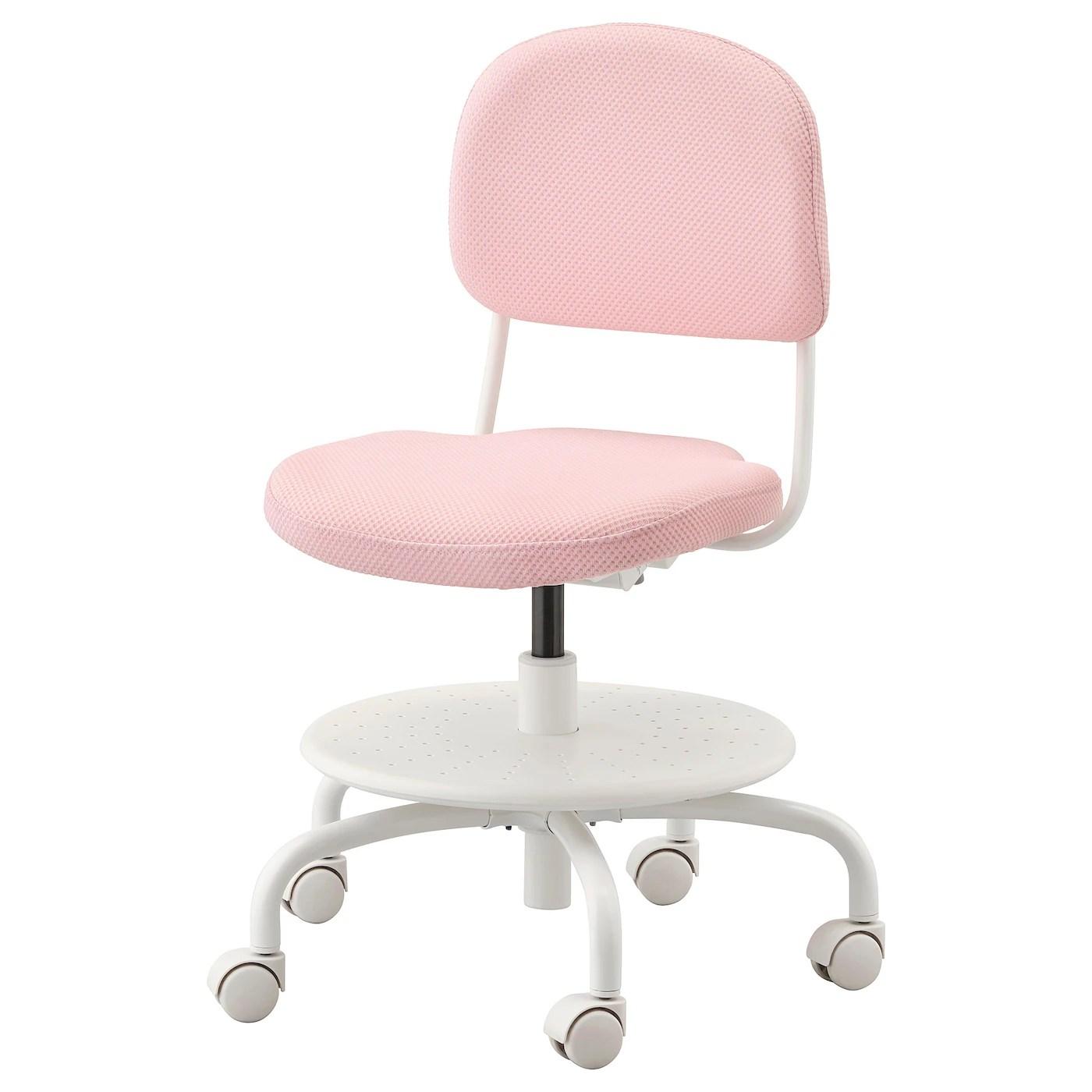Arredamento ufficio scrivania libreria poltrone. Vimund Sedia Da Scrivania Per Bambini Rosa Pallido Ikea It