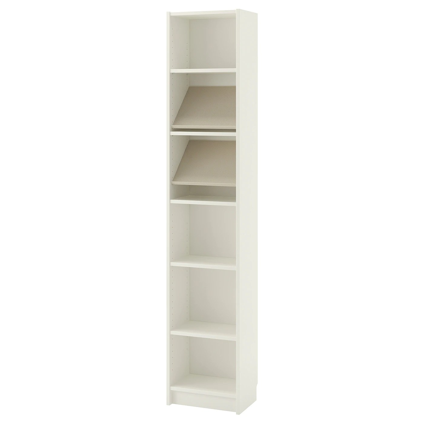 BILLY / BOTTNA Bookcase with display shelf   white, beige ...