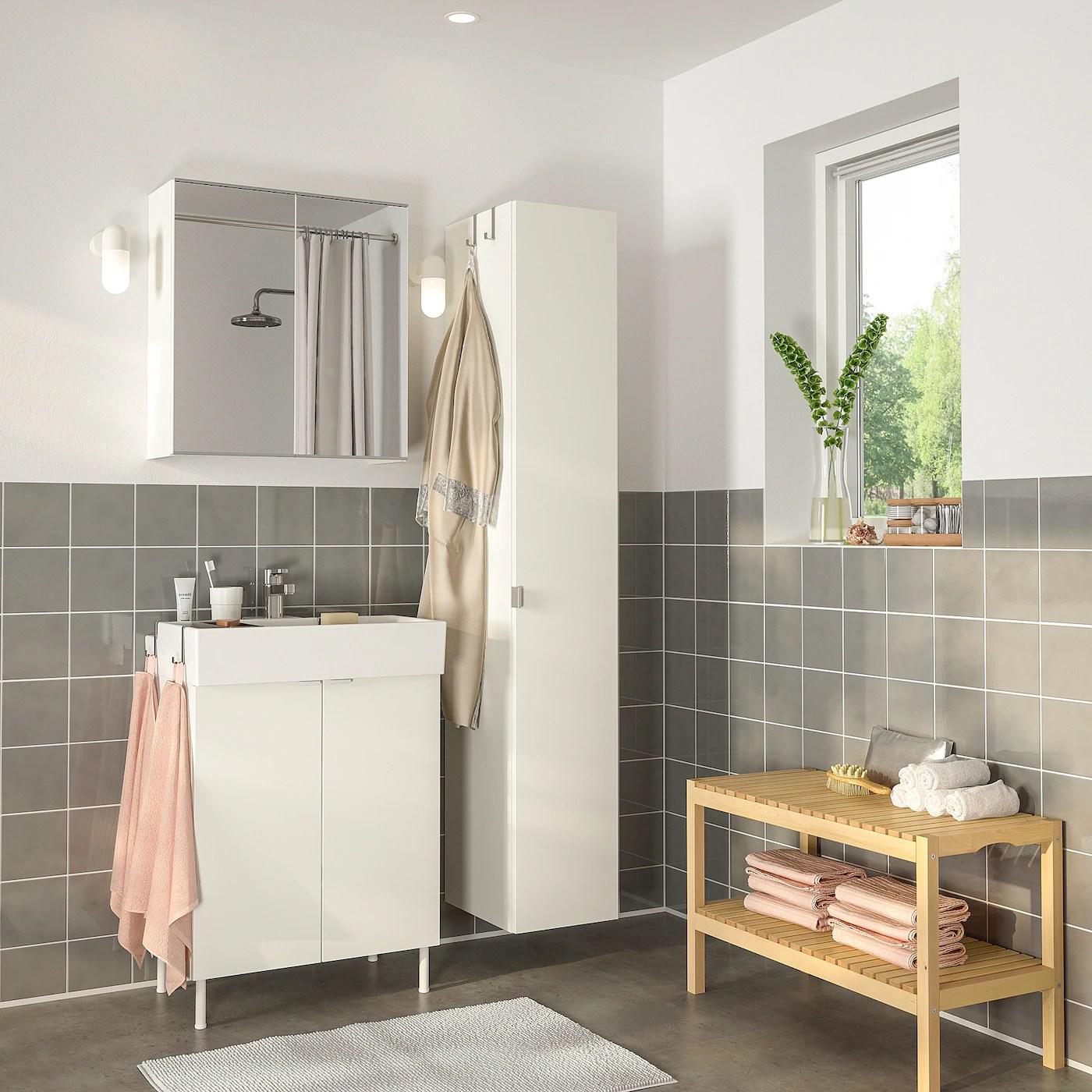 Lillangen Lillangen Bathroom Furniture Set Of 6 White Ensen Tap Ikea