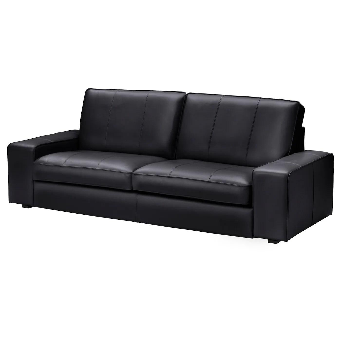 kivik three seat sofa grann bomstad black