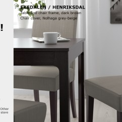 Chair Covers Giant Tiger Lounge Sofa Chairs Offers Ikea Buy Bundle Offer Ekedalen Extendable Table And Henriksdal Cover Frame