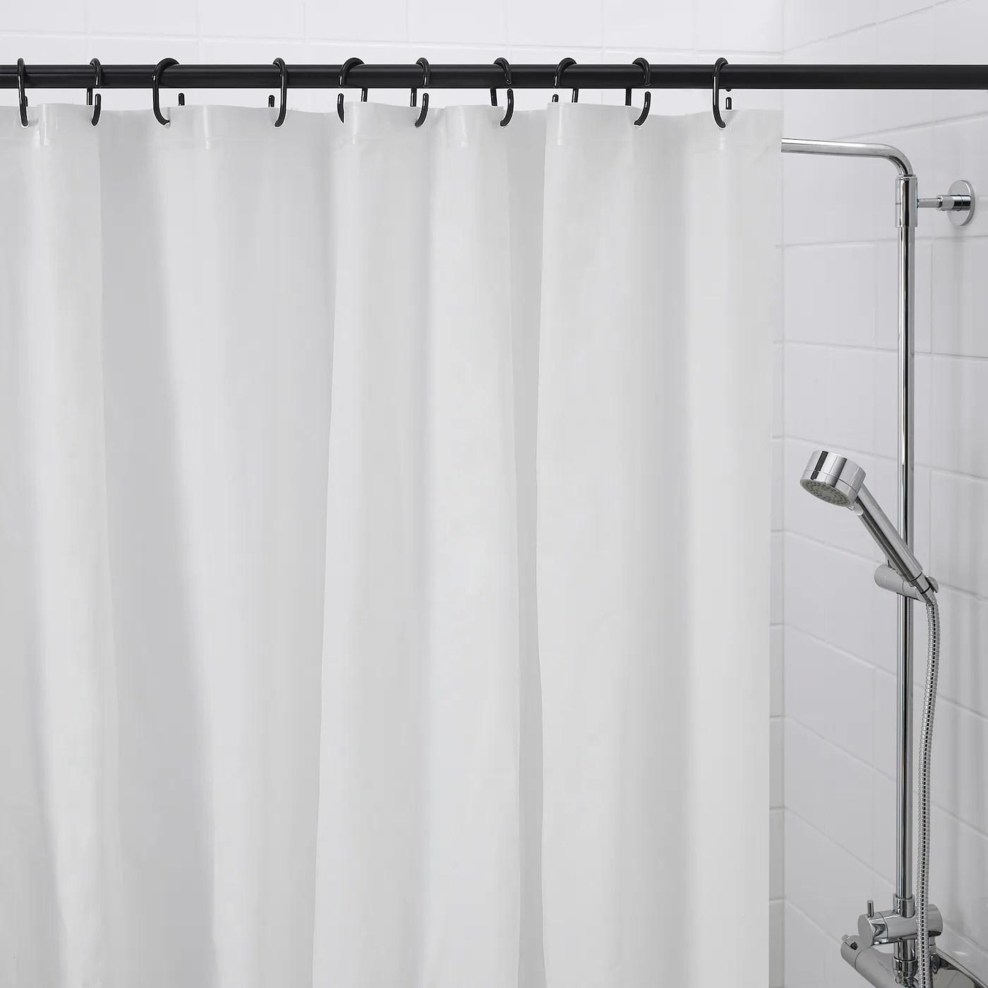 ringsjon shower curtain ring black