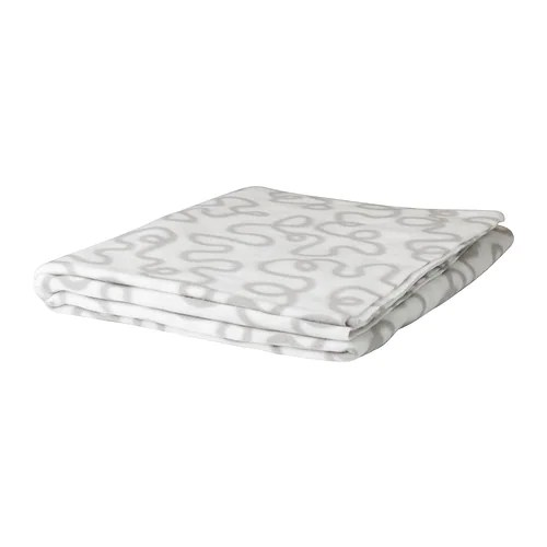 KRÅKRIS Throw IKEA The fleece throw feels soft against your skin and can be machine washed.