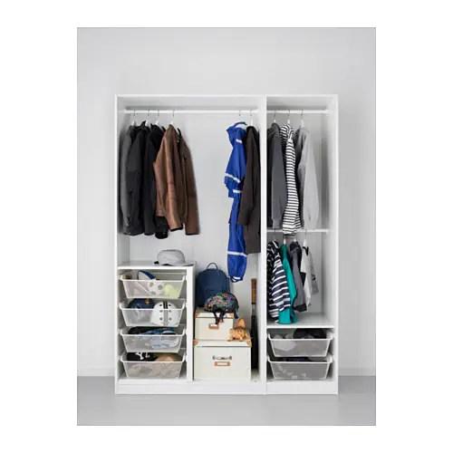 Pax Wardrobe White