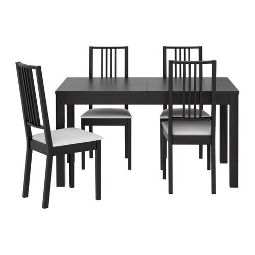 BJURSTA  BRJE Tafel en 4 stoelen  IKEA