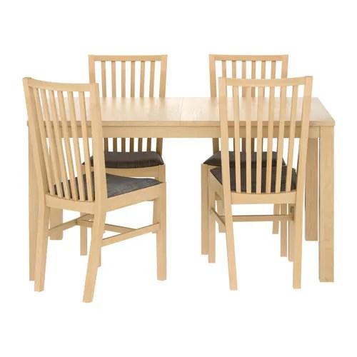 BJURSTA  NORRNS Tafel en 4 stoelen  IKEA